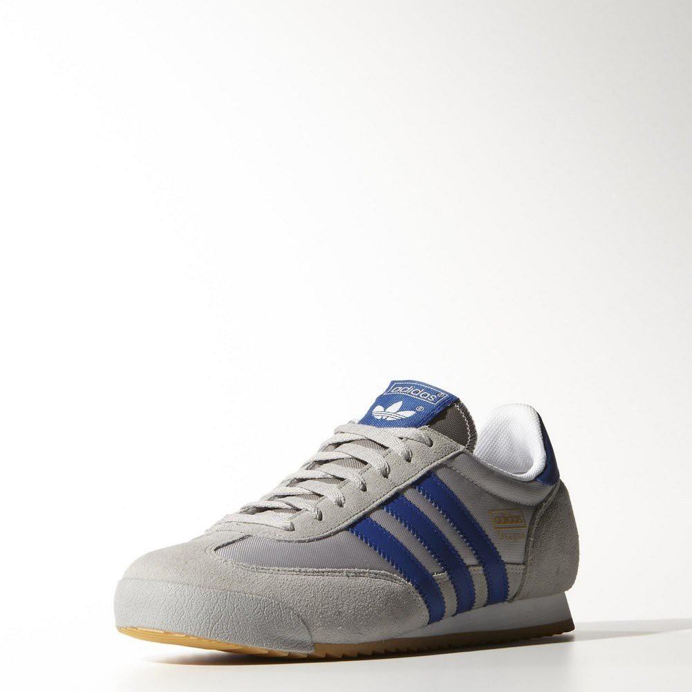 adidas dragon gris bleu