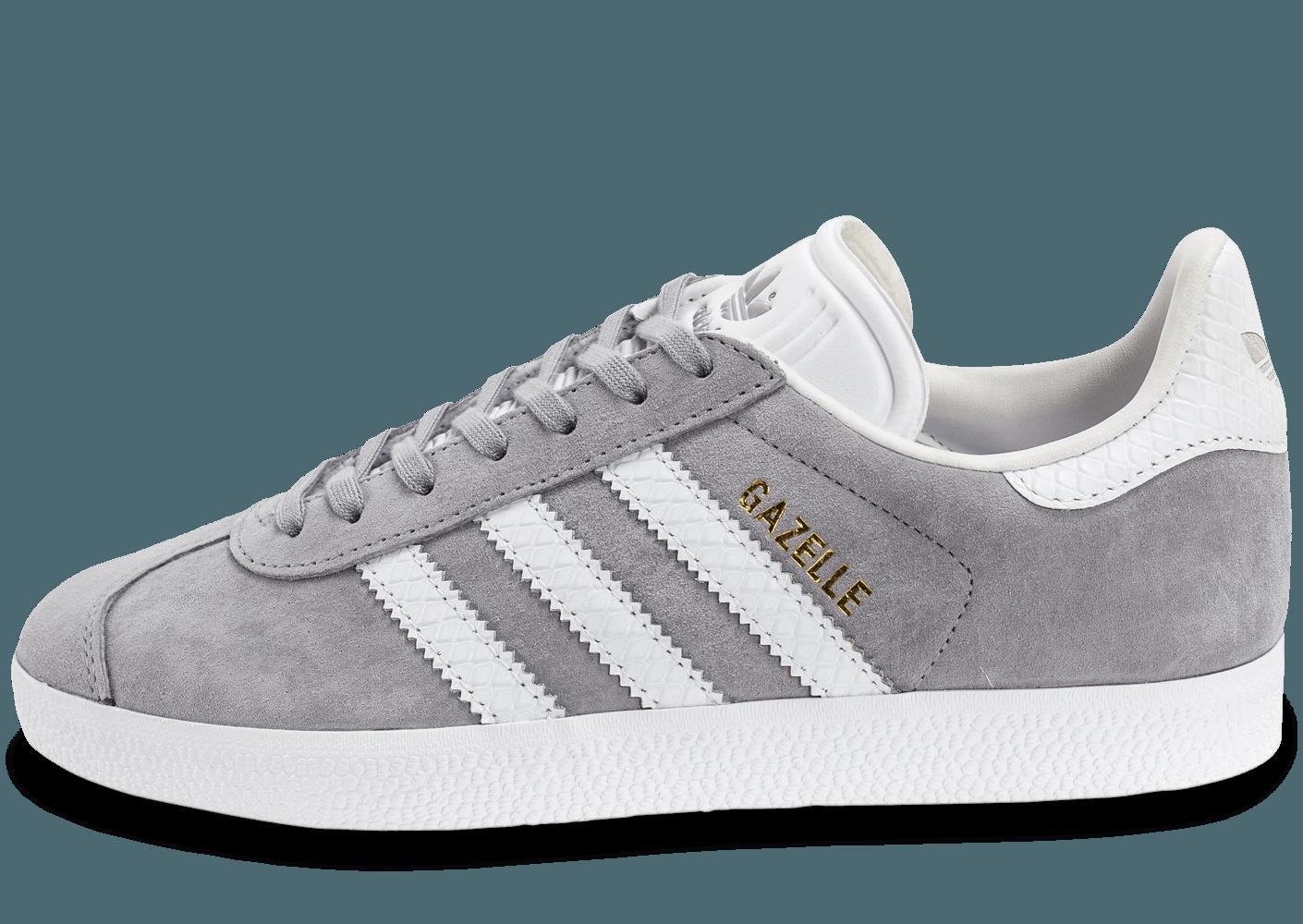 basket adidas gazelle femme grise