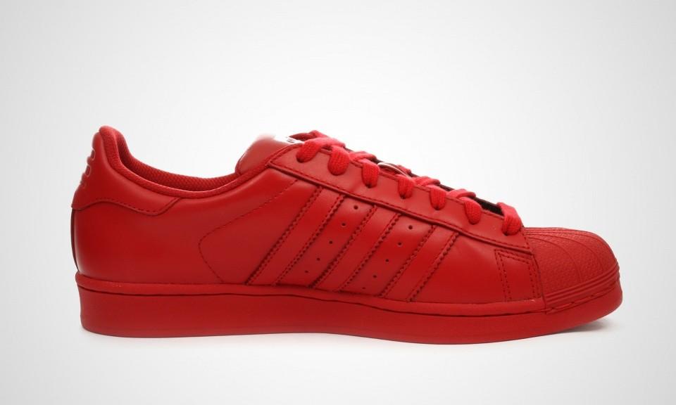 adidas superstar rouge hommes