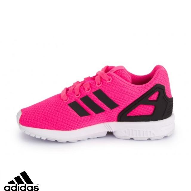 adidas zx flux rose fluo femme