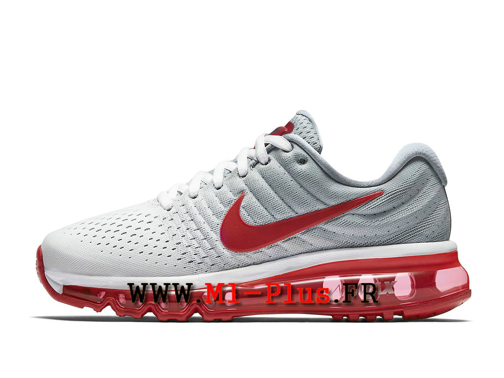 air max 2017 gris et rouge
